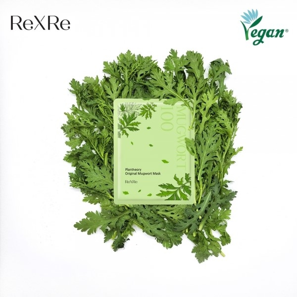 ReXRe-original mugwort mask achieves Vegan certification